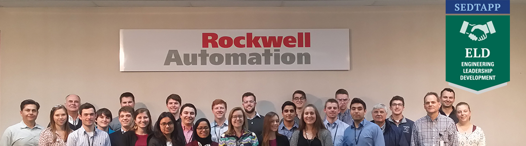Students visiting Rockwell Automation