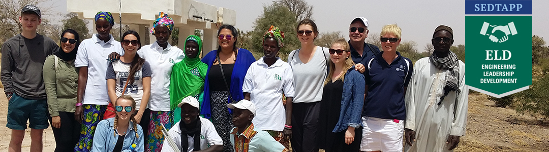 Engineering Leadership Development minor students in Senegal