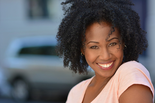 Headshot of an African American woman